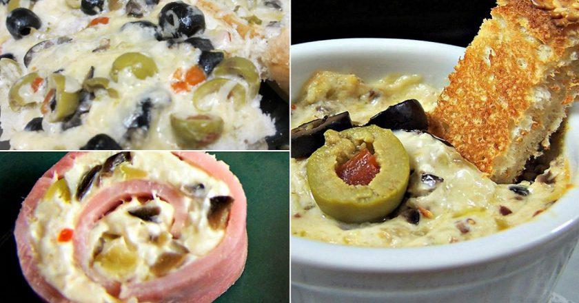 Сырное масло с оливками: составит конкуренцию любому покупному продукту