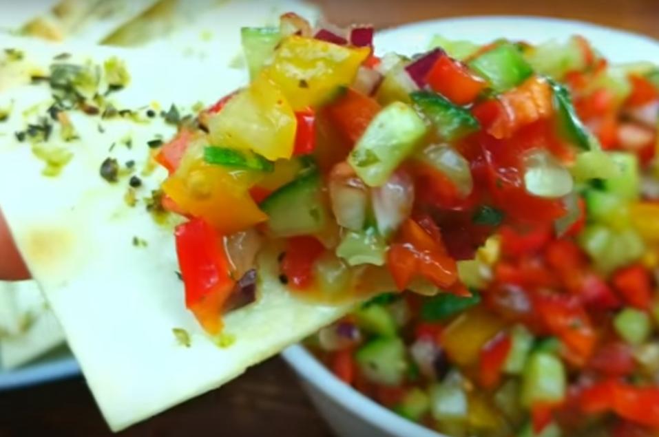 Обалденная вкуснота из лаваша и овощей