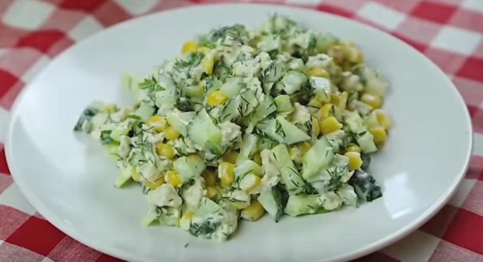 Необычный салат из обычных огурцов - просто взрыв вкуса