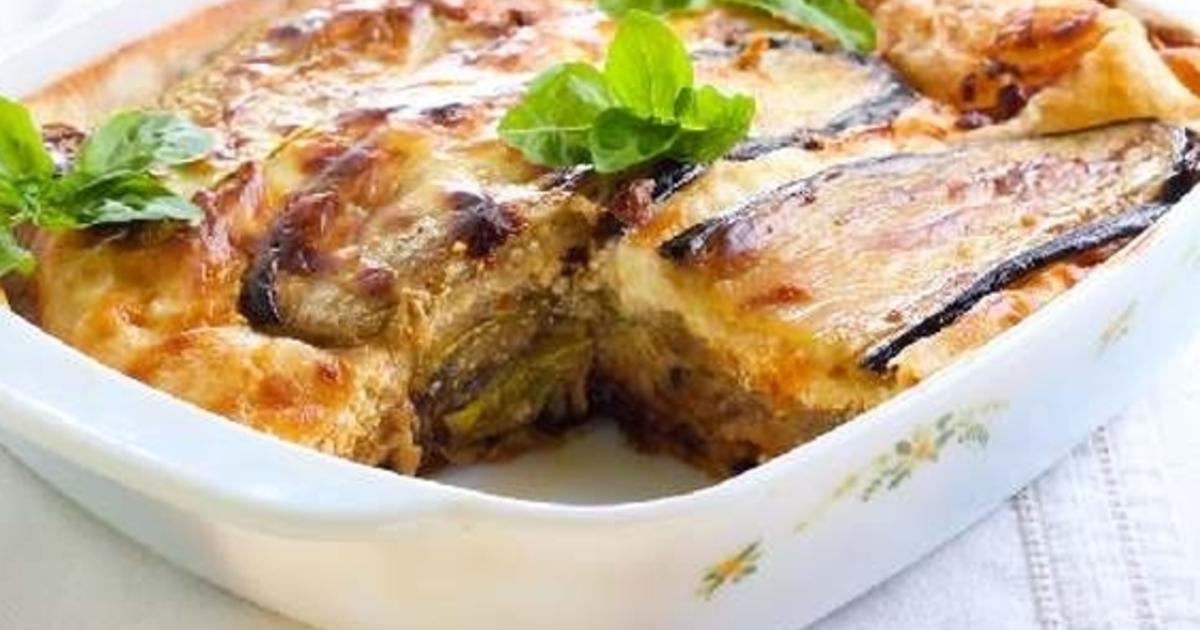 Лазанья из баклажанов - просто и полезно