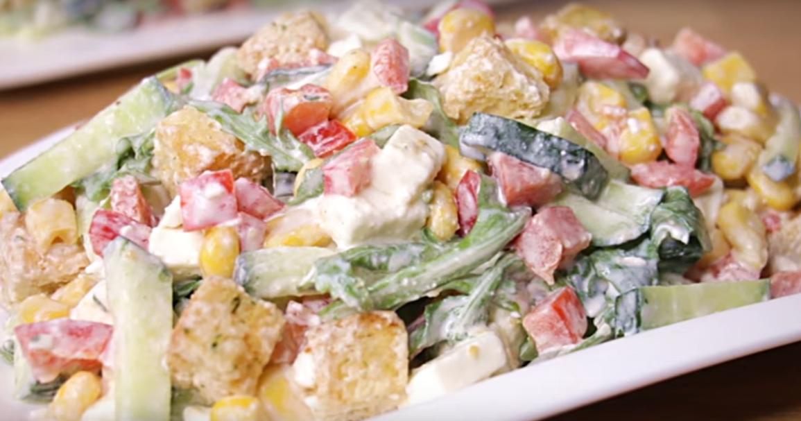 Очаровательный салат - исчезает со стола в считанные минуты