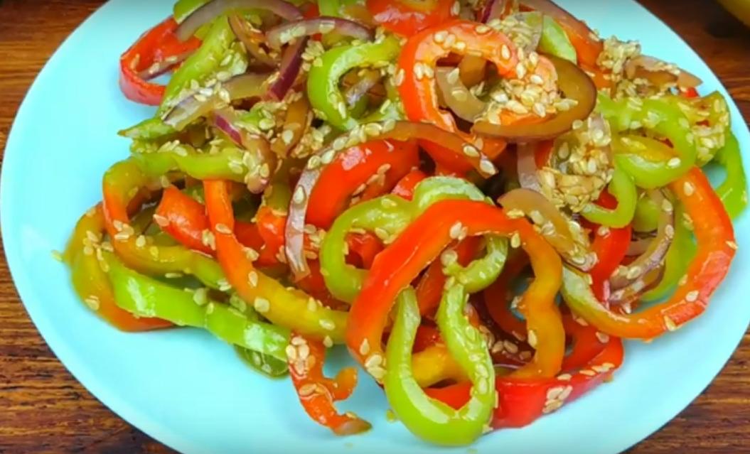 Интересный рецепт приготовления болгарского перца