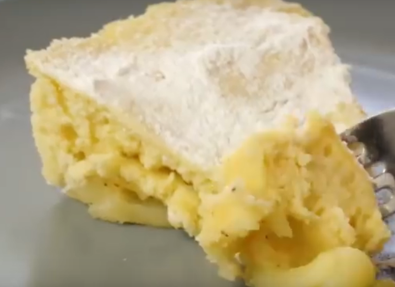 Пирог с яблоками за 7 минут - без духовки