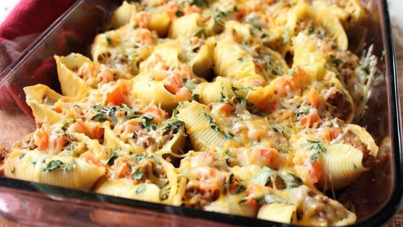 Фаршированные макароны - рожки: вкусное блюдо к обеду
