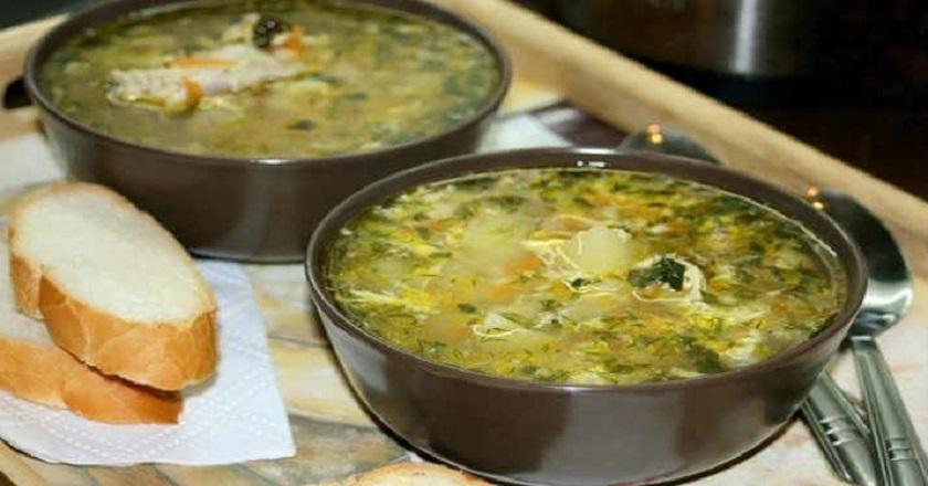 Куриный суп с яйцом: аппетитное первое блюдо