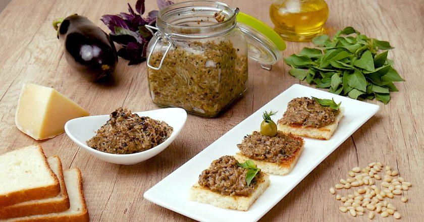 Соус «Песто» из баклажанов – это просто и вкусно