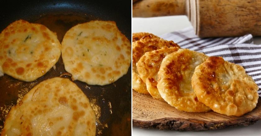 Лепешки с луком: свежая и ароматная выпечка вместо хлеба