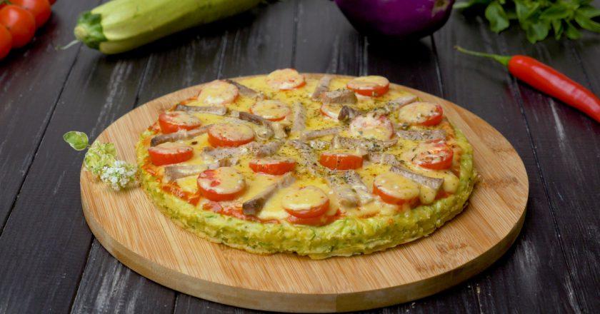 Пицца на кабачковом тесте: нежнее и сочнее не найдете