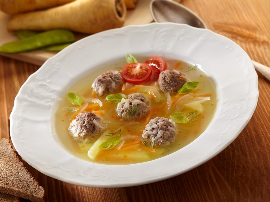 шикарный суп с фрикадельками с картинками интересным