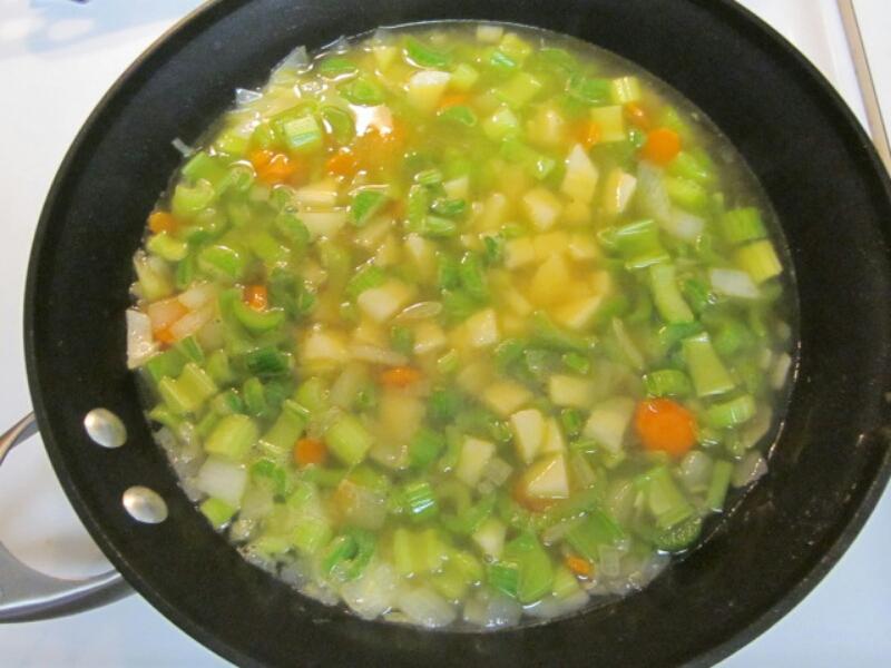 Суп для похудения с сельдерея