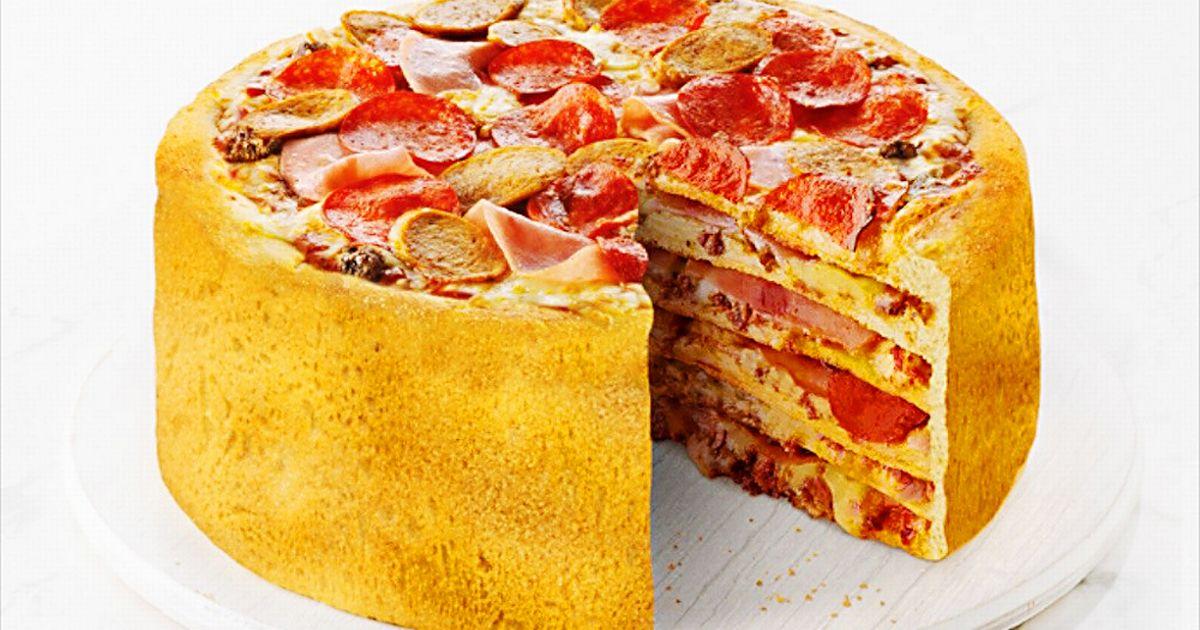 набор пицца торт рецепт с фото утверждают, что наличие