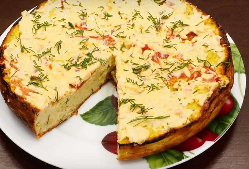 пирог из кабачков рецепт с фото что