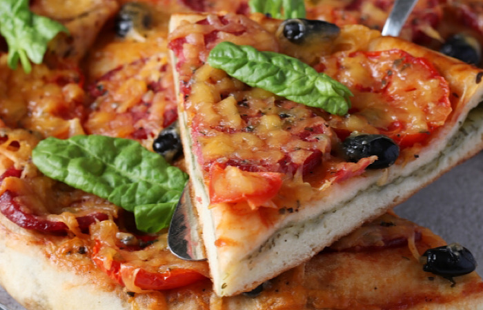 Аппетитная пицца-хачапури