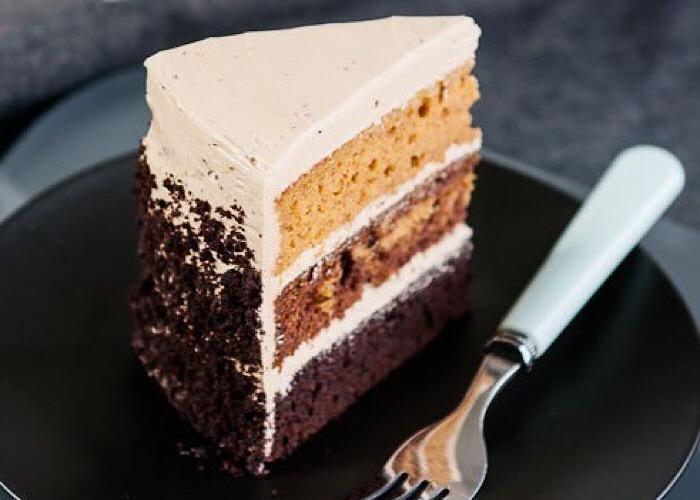 Восхитительный шоколадно-тыквенный торт