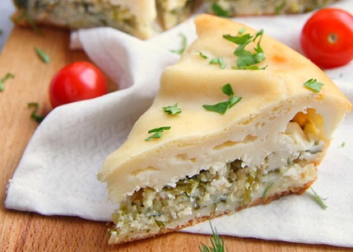 Аппетитный заливной рыбный пирог
