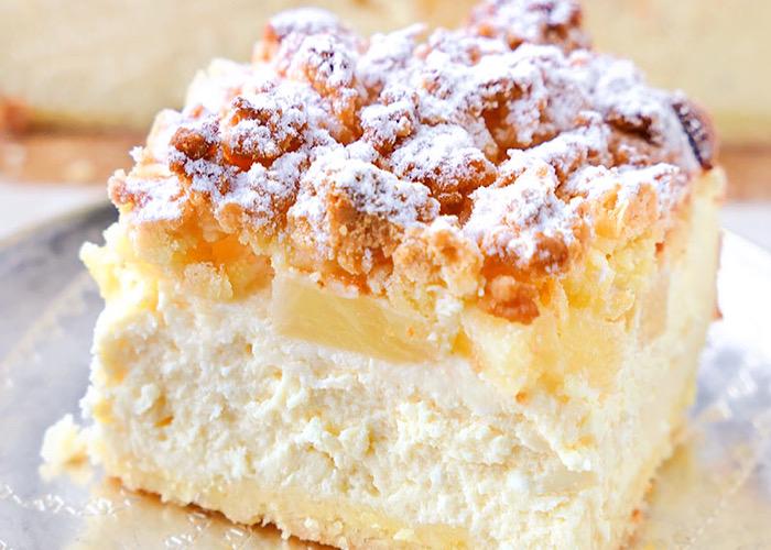 Вкуснейший чизкейк с ананасом