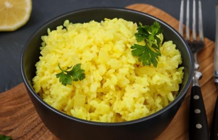 Очень вкусный гарнир из риса с лимонным вкусом