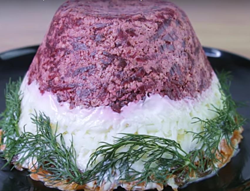 """Превосходный салат """"Айсберг"""" к праздничному столу"""