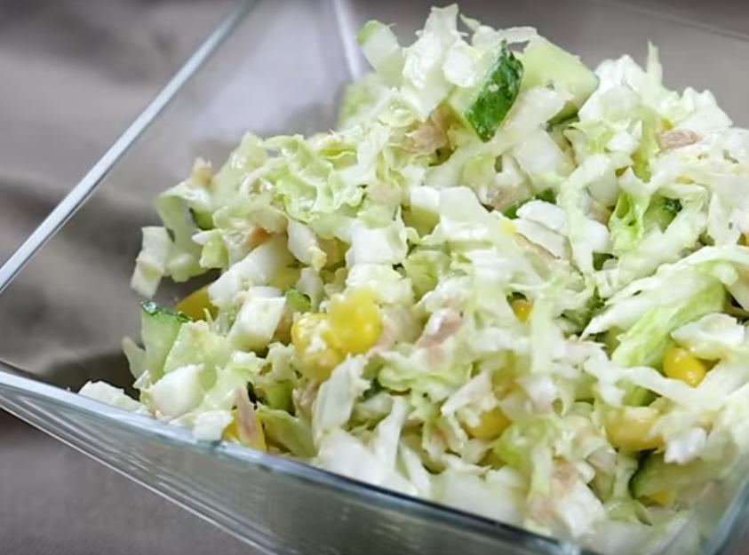 Швидкий салат за 5 хвилин