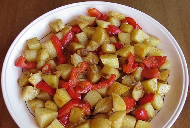 Картошка с болгарским перцем: блюдо в качестве гарнира
