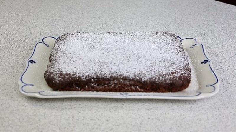 Постный пирог с гречневой мукой и какао: из моей любимой коллекции