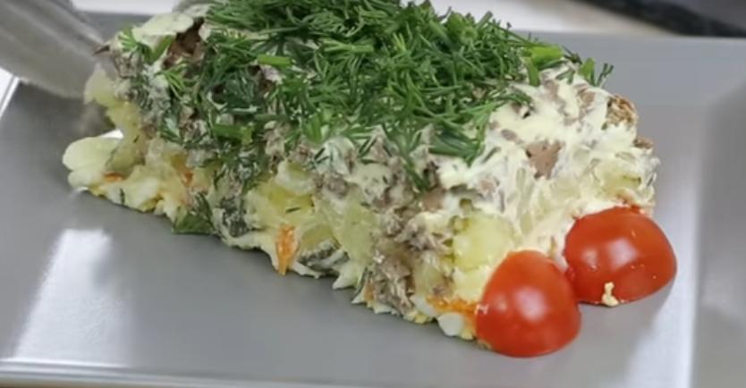 """Новый салат """"Авторский"""" - гости будут просить рецепт"""