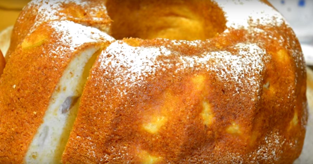 Необычный и вкусный кекс с ананасами на растительном масле