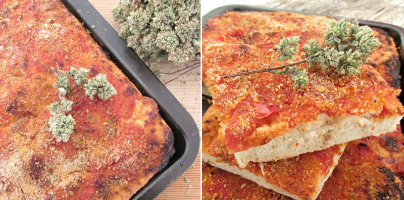 Вкуснейшая сицилийская пицца с анчоусами