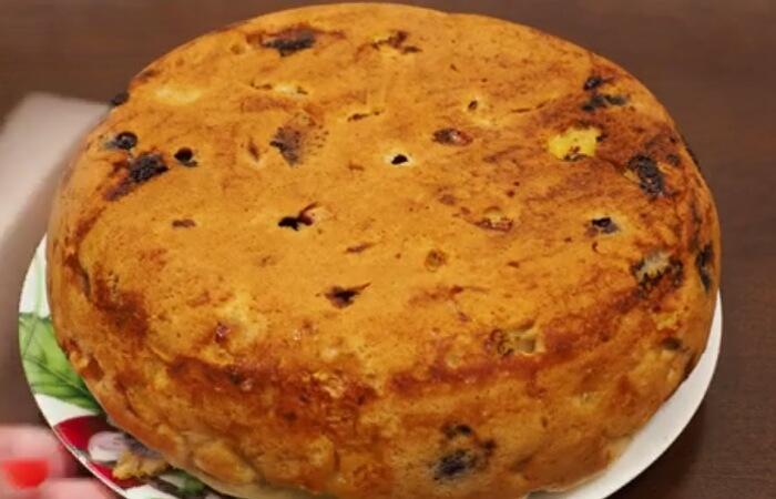 Готовим в мультиварке: вкуснейший пирог с фруктами