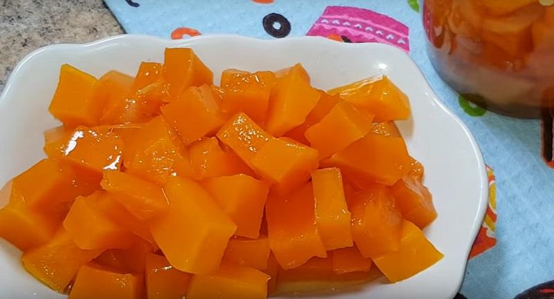 Сочное манго из тыквы: и 20 банок на зиму будет мало!