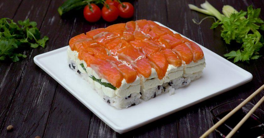Суші-торт: радикальний підхід до японської кухні