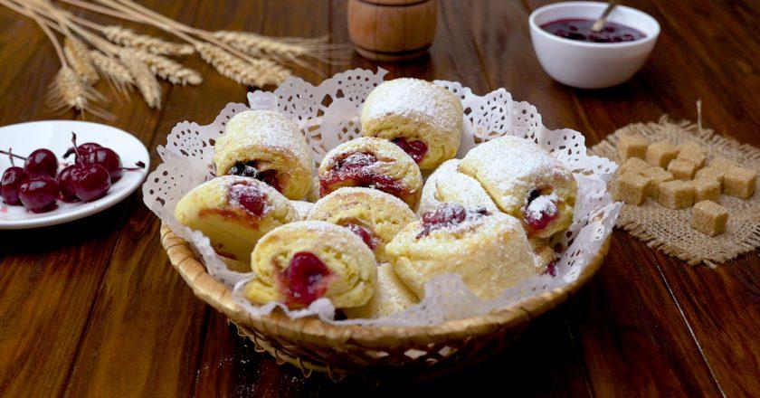 Печенье с ягодной начинкой: домашняя сдоба – самая вкусная