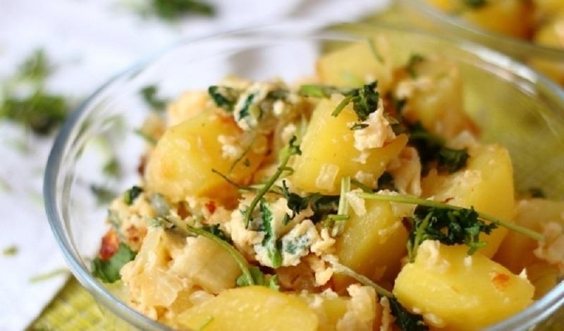 Каурма из картофеля: простое и быстрое блюдо