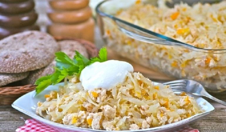 Белокочанная капуста с фаршем: нежное блюдо готовим в духовке