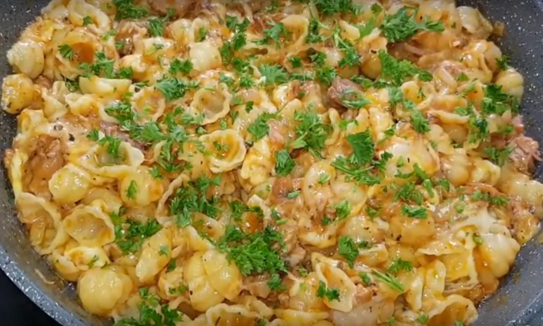 Вкуснейшие макароны к ужину