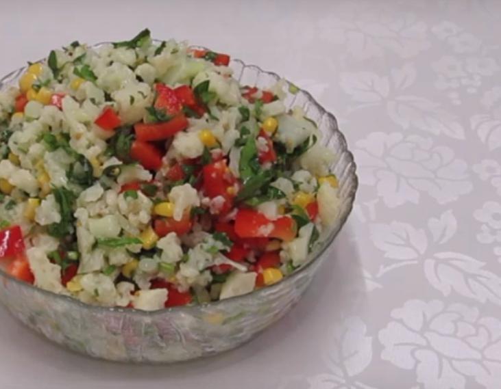 Новый салат из капусты на каждый день
