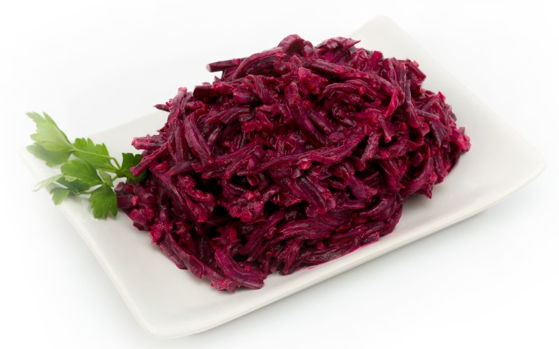 Новый салат из свеклы - очень вкусный