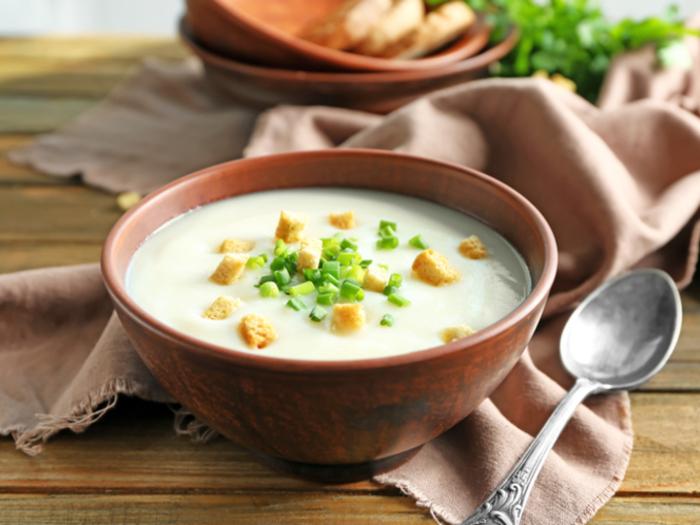Овощной суп со сливками: вкусное блюдо к обеду