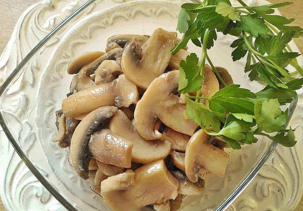 Обалденные маринованные грибочки за 5 минут