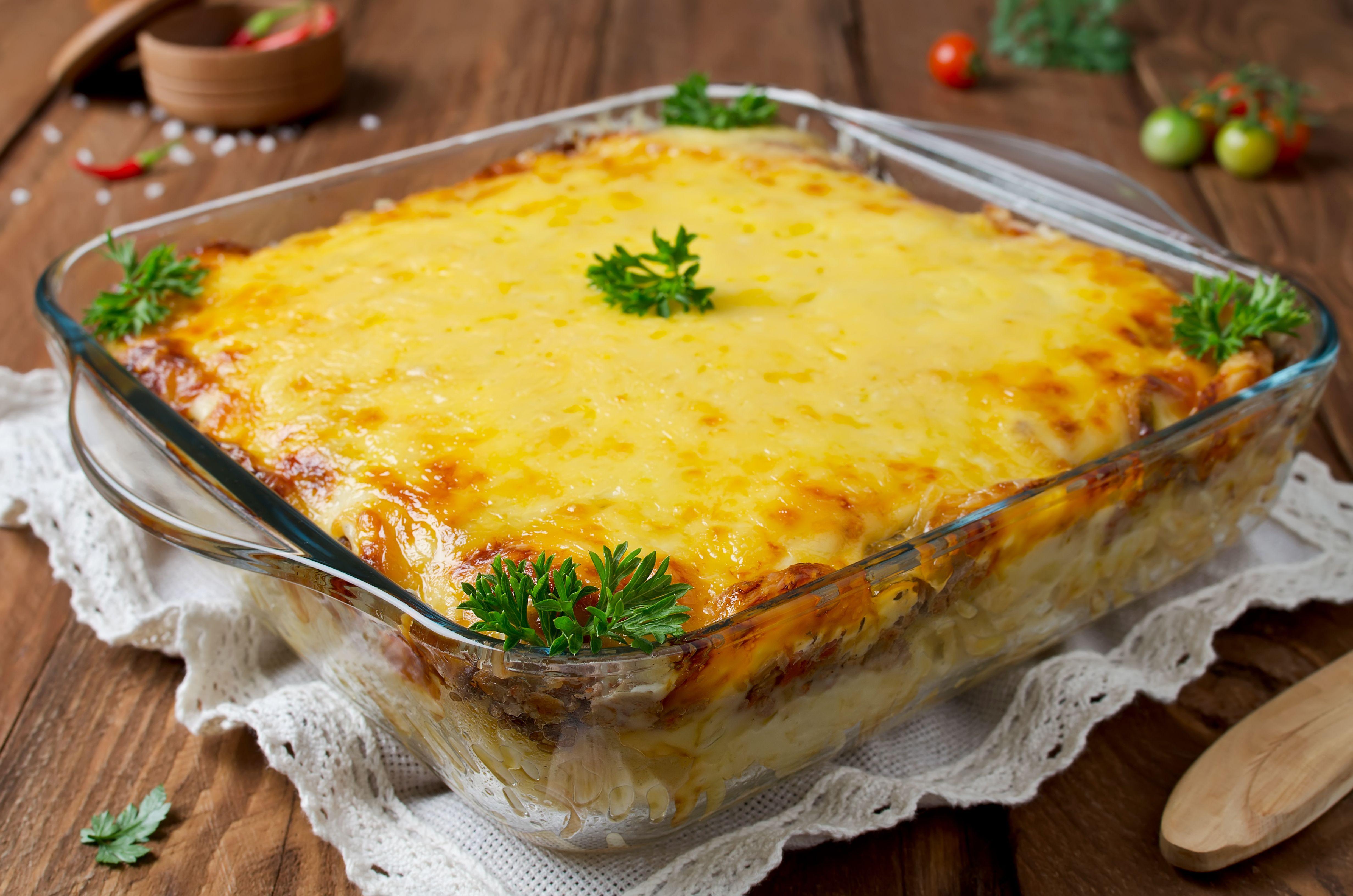 Вкусное блюдо к ужину: запеканка по-французски