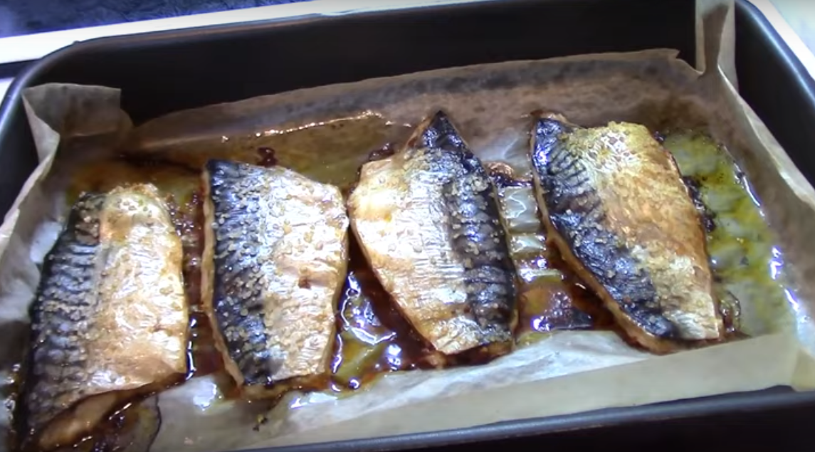 Скумбрия с чесноком и паприкой по рецепту Гордона Рамзи