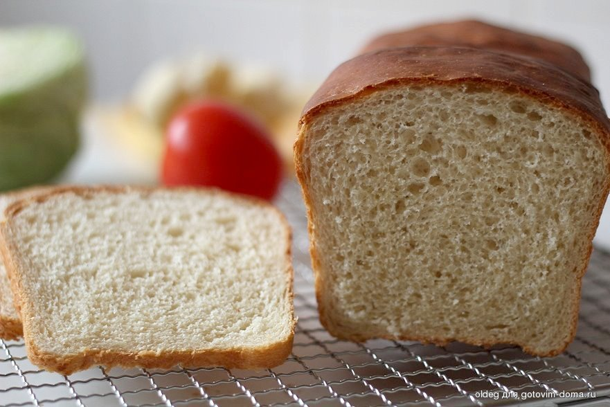 Вкуснейший домашний сметанный хлеб