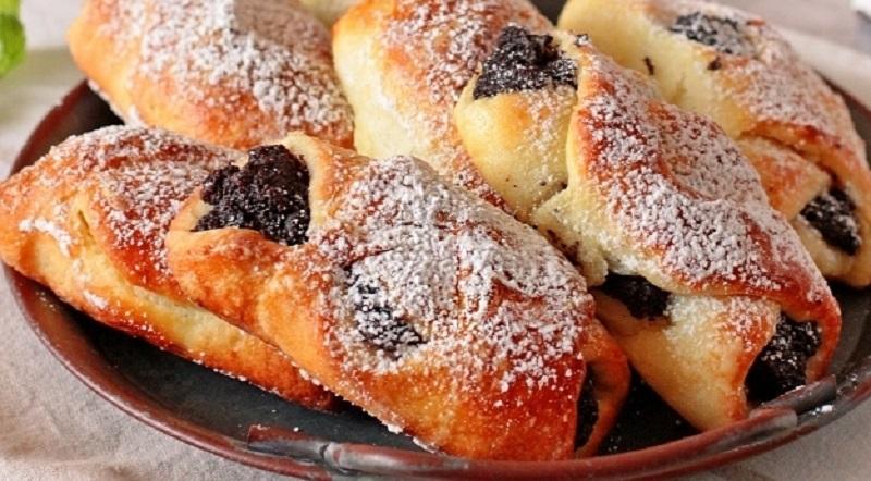 Вкусные пирожки с маком:  без дрожжей, на творожном тесте