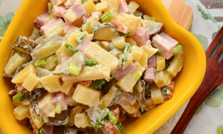 Простой и вкусный салатик на каждый день
