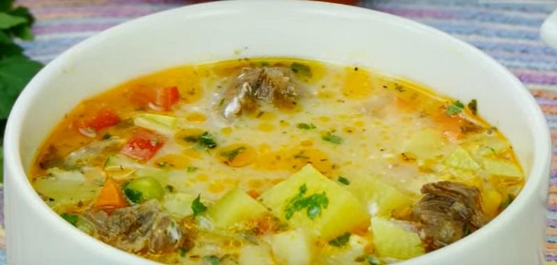 Суп з яловичиною і овочами: все хором просять добавки