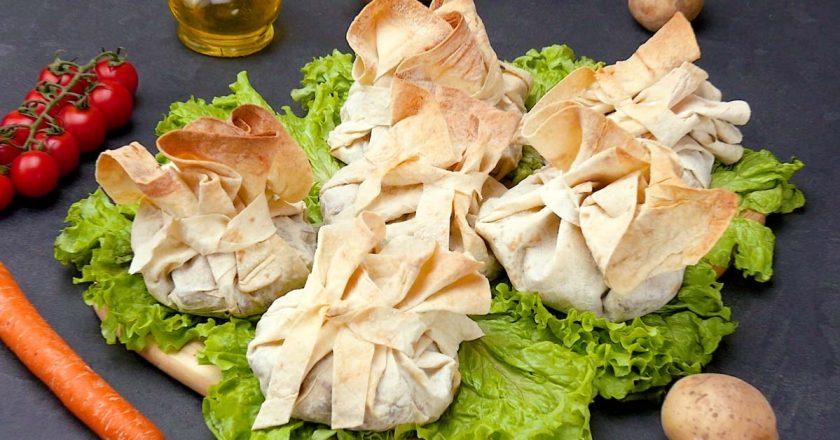 Мясо в лаваше: нет ничего проще, ароматнее и вкуснее