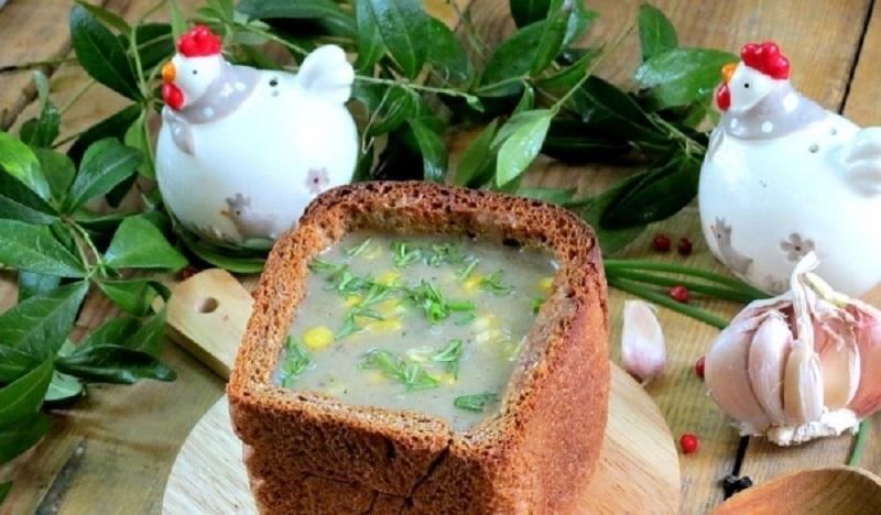 Постный картофельный суп: вкусное блюдо в необычной подаче