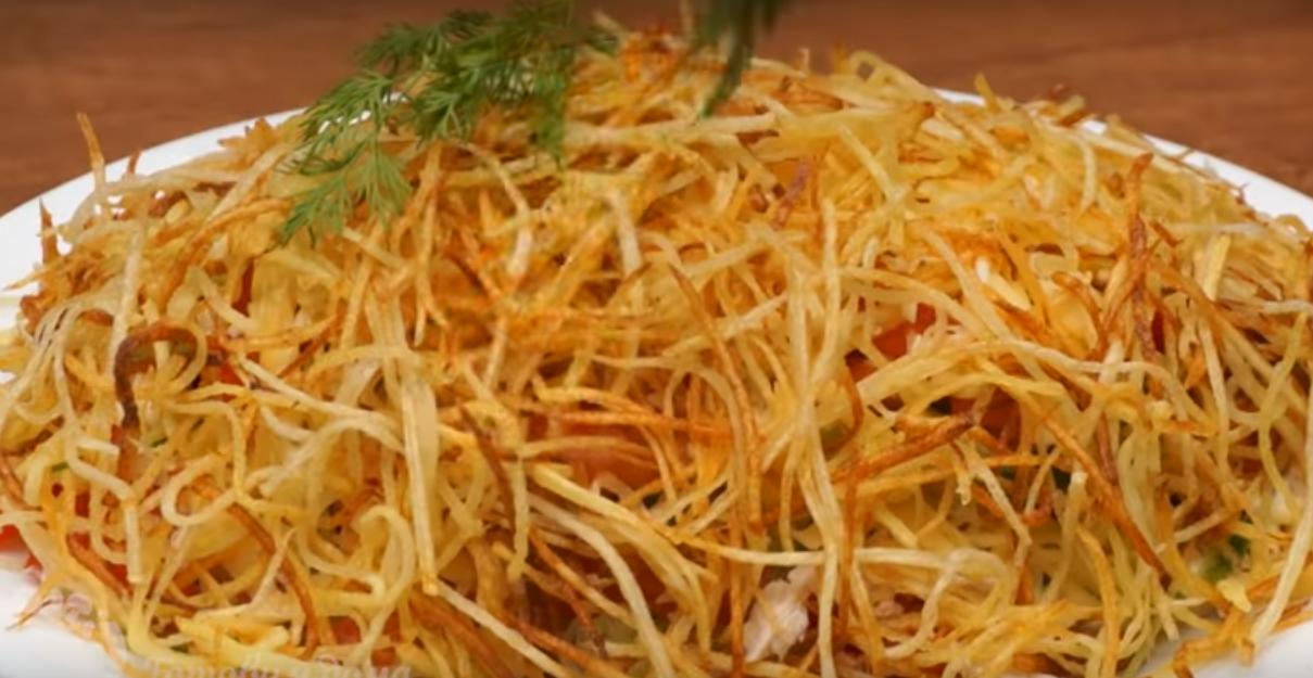 "Салат ""Муравейник"" - готовим к праздничному столу"