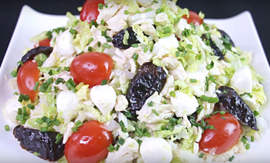 Быстрый салат к новогоднему столу