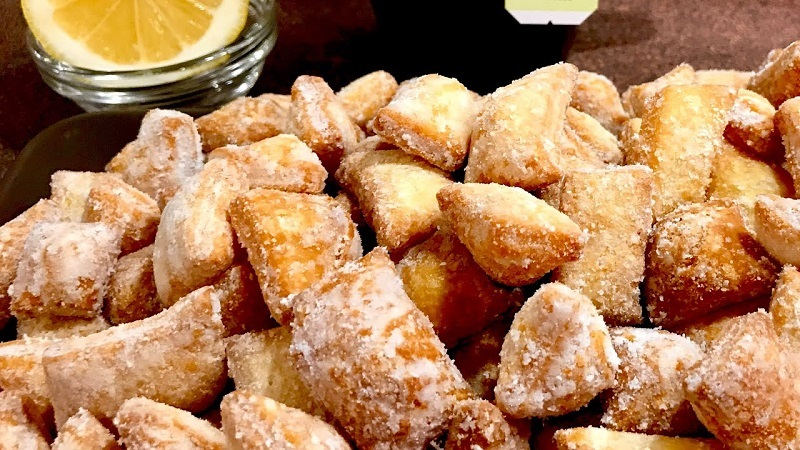 Печенье с лимоном: подушечки с волшебным ароматом и вкусом